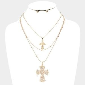 Jewelry - DOUBLE CROSS